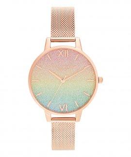 Olivia Burton Rainbow Glitter Relógio Mulher OB16RB18