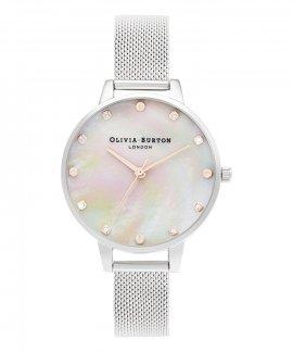 Olivia Burton Plain Demi Relógio Mulher OB16SE07