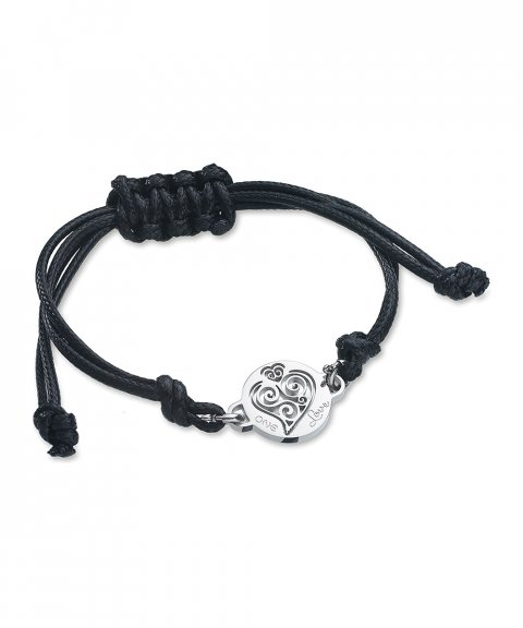 One Jewels Energy for Life Summer Joia Pulseira Mulher Heart OJEBCC53BK