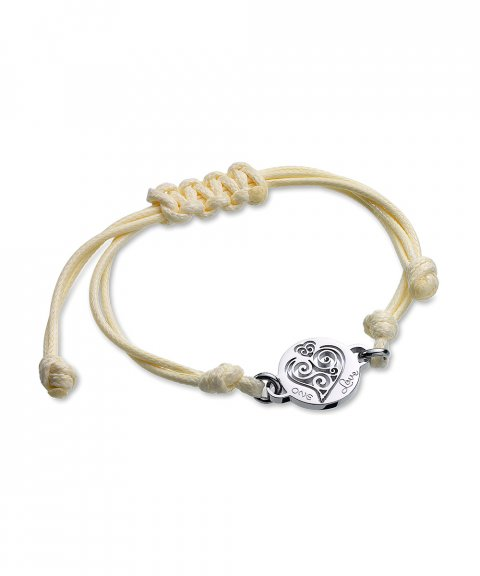 One Jewels Energy for Life Summer Joia Pulseira Mulher Heart OJEBCC53WH