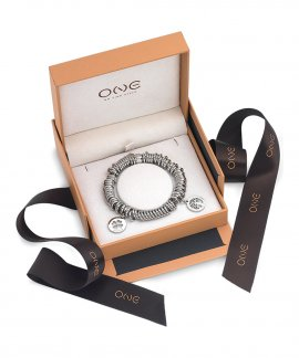 One Energy for Life Set Joia Pulseira Charm Mulher Prosperidade OJEBMC01-PROS