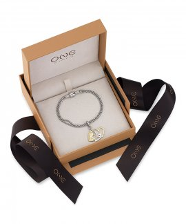 One Energy for Life Set Joia Pulseira Charm Mulher Love of a Lifetime OJEBMS01-LOVE
