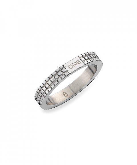 One Jewels London 02 Silver Joia Anel Mulher OJNYR02S