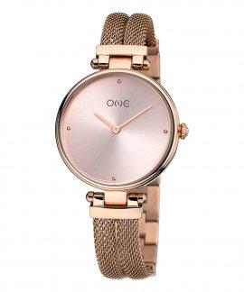 One New Dual Relógio Mulher OL0466RR91W