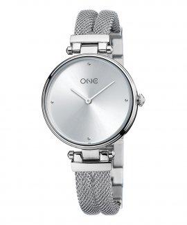 One New Dual Relógio Mulher OL0466SS91W