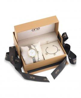One Chain Box Relógio Set Mulher OL1231IC12S
