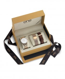 One Minimal Box Relógio Mulher OL7557BI81L