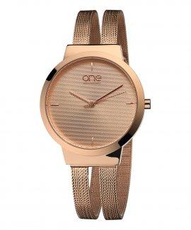One Dual Relógio Mulher OL7617RR72L