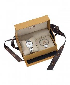 One Memorable Box Set Relógio Pulseira Mulher OL7892WA81L