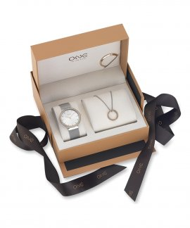 One Hoop Box Relógio Colar Mulher OL8252WA91L