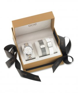 One New Style Box Relógio Set Mulher OL8367IC11L
