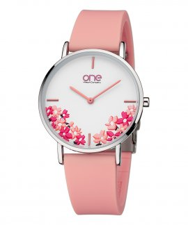 One Colors Floral Relógio Mulher OM7779RR81L