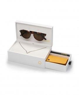 One Active Box Turtle Colar Óculos de Sol Set Mulher OSBHS4552TCC321H