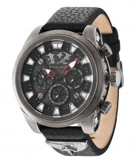 Police Mephisto Negro Relógio Homem P14473JSQS02