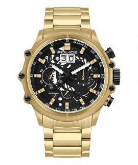 Police Luang Relógio Cronógrafo Homem P16018JSG02M