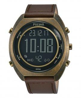 Pulsar X Relógio Homem World Time P5A030X1