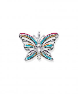 Thomas Sabo Butterfly Joia Pendente Colar Mulher PE803-340-7