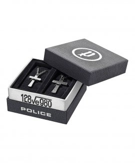 Police Cryptic Set Joia Colar Homem PJ25694_CRYPTIC_SET