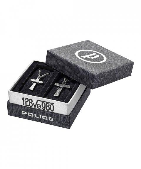 Police Cryptic Set Joia Colar Set Homem PJ25694_CRYPTIC_SET