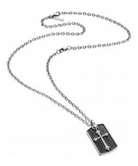 Police Knights Cross Joia Colar Homem PJ25872PSS01