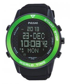 Pulsar X Relógio Homem World Time PQ2033X1