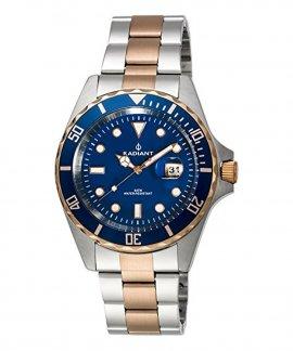 Radiant Navy Steel Relógio Homem RA410206
