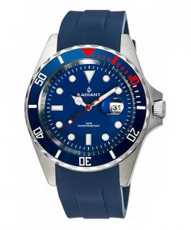 Radiant Navy Steel Relógio Homem RA410602