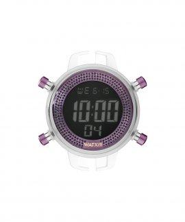 Watx and Co M Digital Sparkling Purple Glitter Relógio Mulher RWA1057