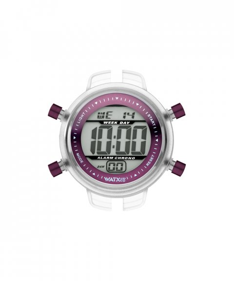 Watx and Co S Digital Pixel Purple Relógio RWA1517