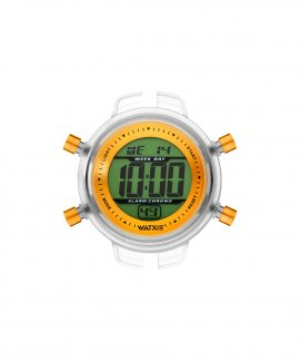 Watx and Co S Digital Tropicality Orange Relógio RWA1593