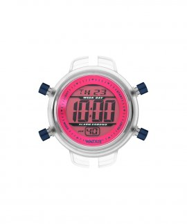 Watx and Co S Digital Psicotropical Pink Blue Relógio RWA1598