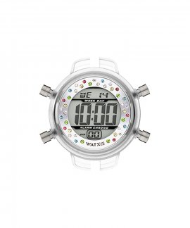 Watx and Co S Digital Magic Silver Relógio RWA1639