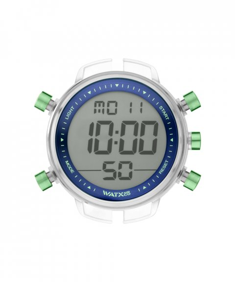 Watx and Co L Digital Psicotropical Blue Green Relógio Homem RWA1797