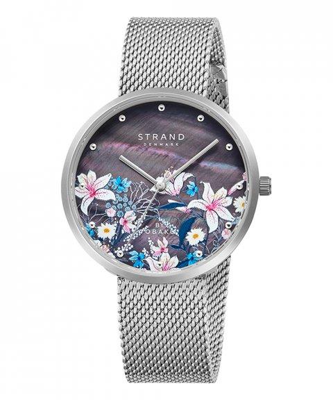 Strand Flowers Onyx Relógio Mulher S700LXCBMC-DF