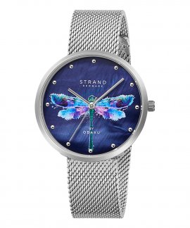 Strand Dragonfly Cyan Relógio Mulher S700LXCLMC-DD