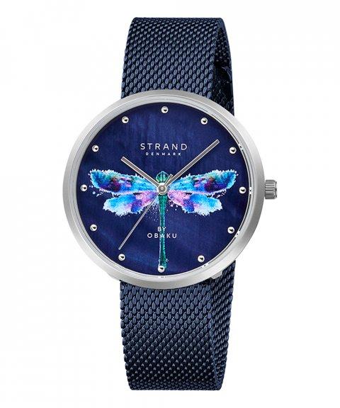Strand Dragonfly Arctic Blue Relógio Mulher S700LXCLML-DD