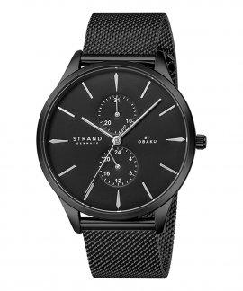 Strand Beaufort Charcoal Relógio Homem S703GMBBMB