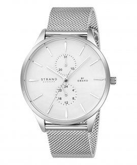 Strand Beaufort Steel Relógio Homem S703GMCIMC