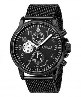 Strand Monroe Charcoal Relógio Homem S714GMBBMB