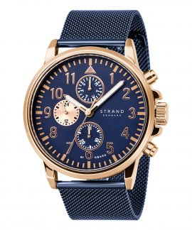 Strand Monroe Ocean Blue Relógio Homem S714GMVLML