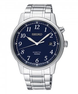 Seiko Neo Classic Kinetic Relógio Homem SKA777P1