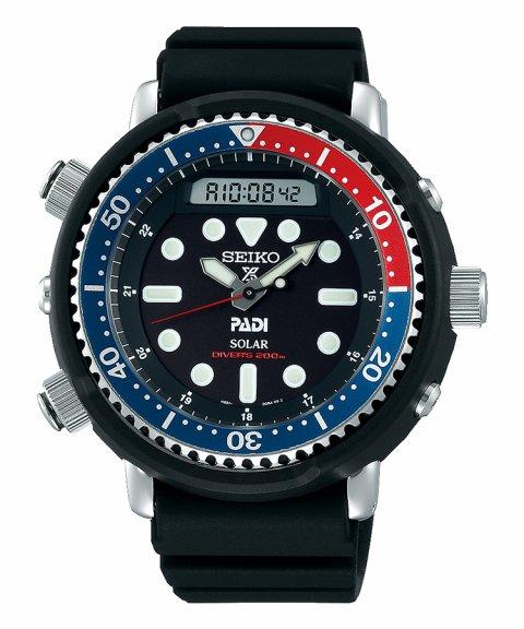 Seiko Prospex Hybrid Diver´s PADI Relógio Homem SNJ027P1
