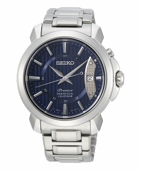 Seiko Premier Perpetual Calendar Relógio Homem SNQ157P1