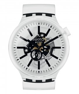 Swatch Big Bold Blackinjelly Relógio Homem SO27E101