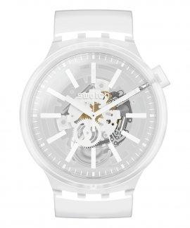 Swatch Big Bold Whiteinjelly Relógio Homem SO27E106