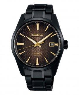 Seiko Presage Automatic 140th Anniversary Limited Edition Relógio Sharp Edged Series Homem SPB205J1