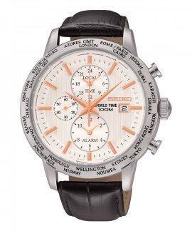 Seiko Neo Sports World Time Relógio Homem Chronograph SPL053P1