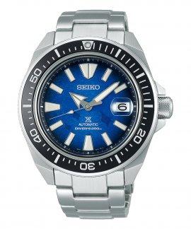 Seiko Prospex Save the Ocean Manta Ray Samurai Relógio Homem Diver´s Automatic SRPE33K1