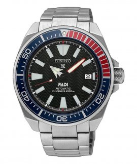Seiko Prospex PADI Samurai Diver´s Relógio Homem Automatic SRPF09K1