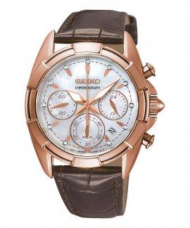 Seiko Ladies Diamond Relógio Mulher Chronograph SRW784P1